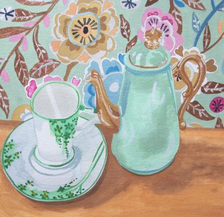 Green Tea Giclee print