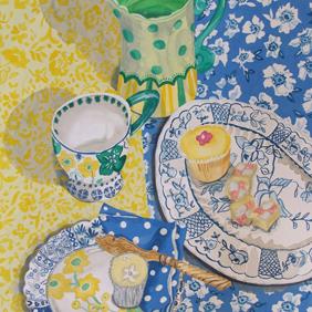 Tea Table: original painting
