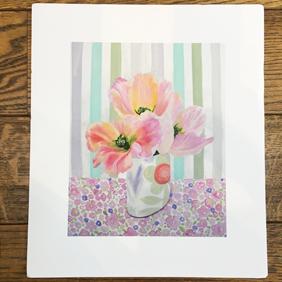 Apricot Beauty Giclee print