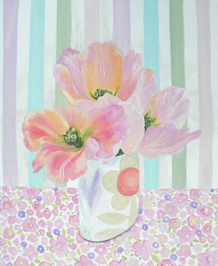 Apricot Beauty: original painting