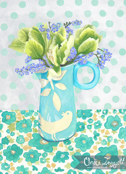 Spring Green: original painting
