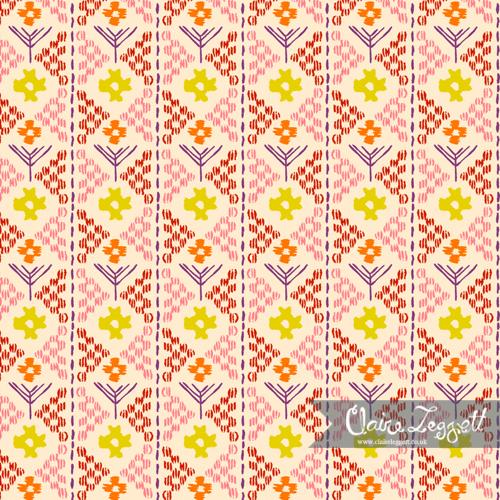 Floral Stitches Column