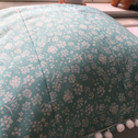 Close up detail of Alyssum Cushion
