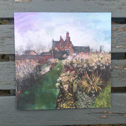 Autumn House greeting card