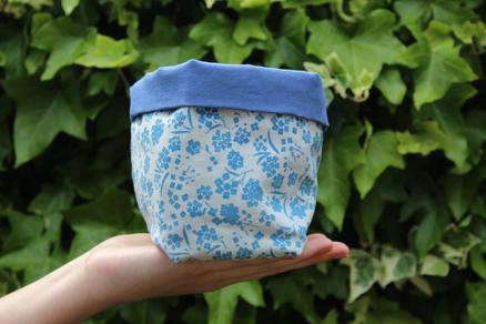 Blue Alyssum, Soft Storage Box
