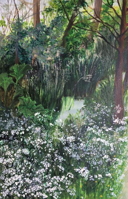 Cow Parsley: original painting