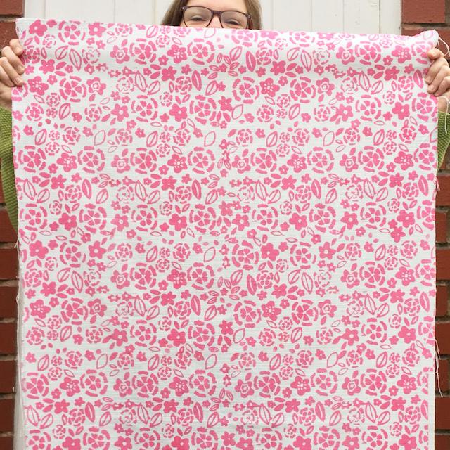 Dianthus Fabric length