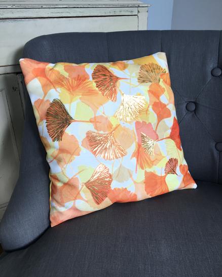 Gingko cushion