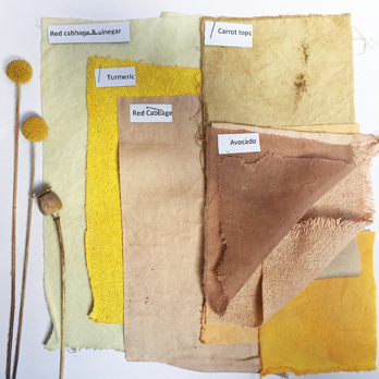 Naturally Dyed fabric packs