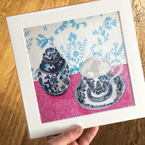 Willow Pattern Giclee print